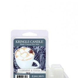 Kringle Candle Cashmere & Cocoa Wosk Zapachowy 64g
