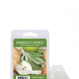 Kringle Candle Crisp Apple & Sage Wosk Zapachowy 64g