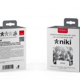 Mr & Mrs Fragrance – Zapach do samochodu – Niki – Wkład (Pure)