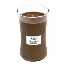 WoodWick AMBER & INCENSE Duża Świeca 609,5 g