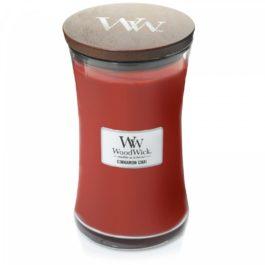 WoodWick CINNAMON CHAI Duża Świeca 609,5 g
