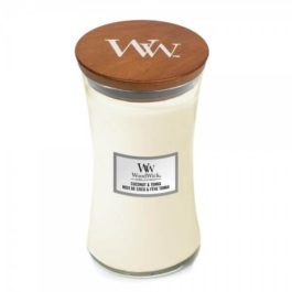 WoodWick COCONUT & TONKA Duża Świeca 609,5 g