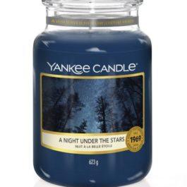 Yankee Candle A Night Under The Stars Duża Świeca 623g