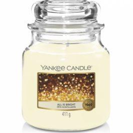 Yankee Candle All Is Bright Średnia Świeca 411g