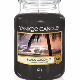 Yankee Candle BLACK COCONUT Duża Świeca 623g