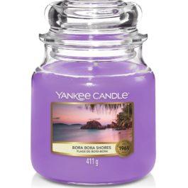 Yankee Candle BORA BORA SHORES Średnia Świeca 411g