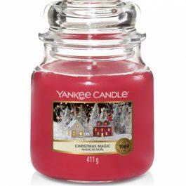 Yankee Candle Christmas Magic Średnia Świeca 411g