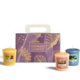 Yankee Candle Zestaw 3 świec typu votive