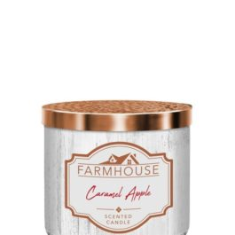 Kringle Candle Caramel Apple Farmhouse Tumbler 411g 3 knoty