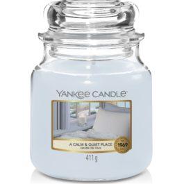 Yankee Candle A CALM AND QUIET PLACE Średnia Świeca 411g