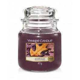 Yankee Candle AUTUMN GLOW Średnia Świeca 411g